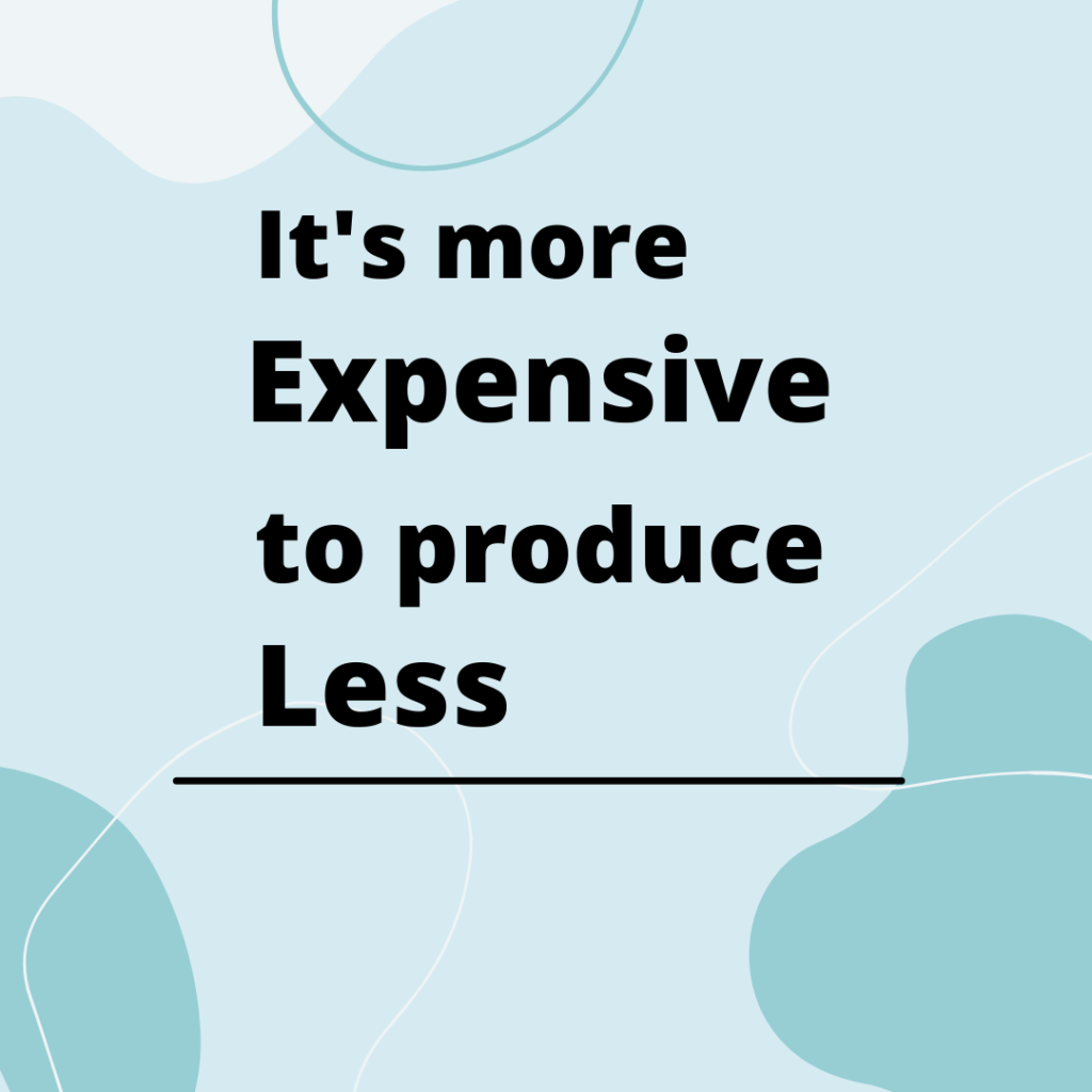 Reason why sustainable fashion is more expensive
